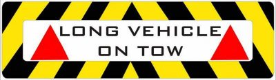On Tow Sign