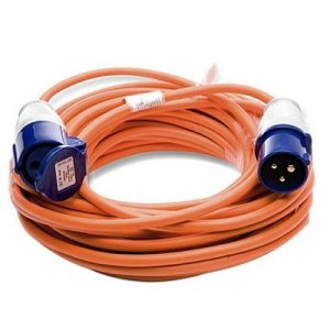 25M Mains Hook Up Lead