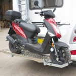 Kymco Scooter on ScootRack Fitted to Bessecarr
